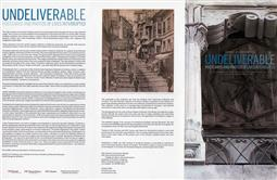 Undeliverable: Postcards and Photos of Lives Interrupted
