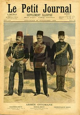 Le Petit Journal (Supplement Illustre) Armee Ottomane kapaklı #262